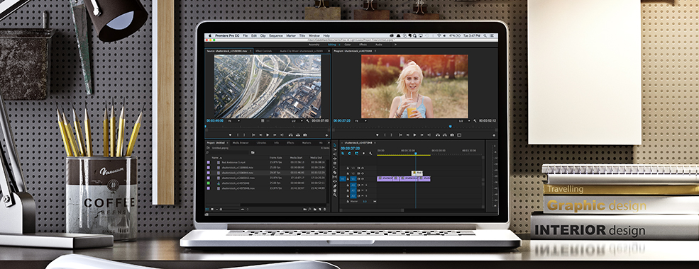Ambiente de trabalho After Effects