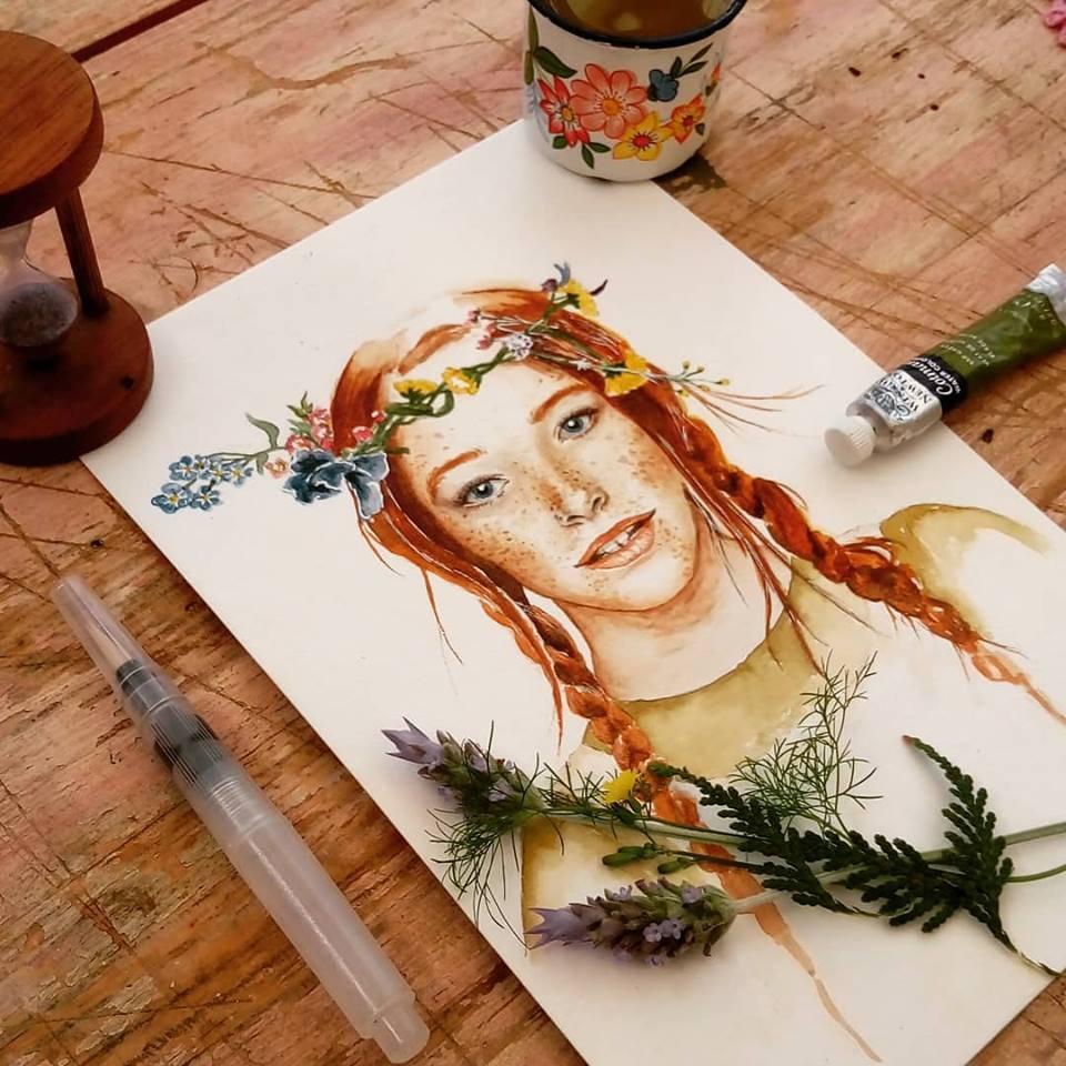 Arte de Brunna Frade