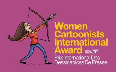 Conheça o Women Cartoonists International Award! – O Primeiro Prêmio Internacional para Mulheres Cartunistas
