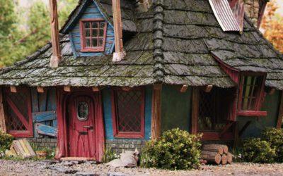 Como Criar a Casa dos Weasley em 3D