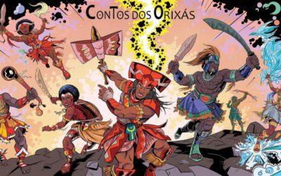 Hugo Canuto: Deuses da Cultura Afro-Brasileira e Heróis dos Quadrinhos