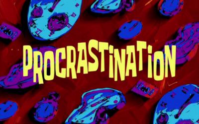 Coisas que nunca te disseram sobre procrastinação